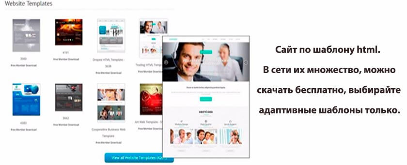 Конструктор сайтов от ru center